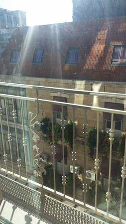 Arthur Hotel Jerusalem - an Atlas Boutique Hotel: Morning view from the room