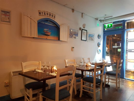 Restaurant interior picture of mykonos taverna dublin