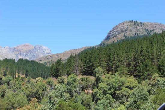 Wellington, Republika Południowej Afryki: Blick Richtung Bainskloof Pass