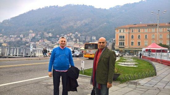Lombardie, Italie : como lake