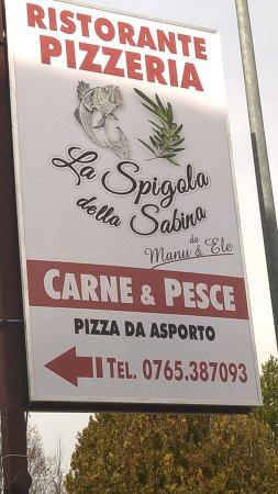 La Spigola della Sabina