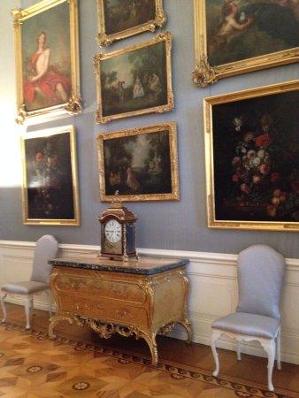 Sanssouci Palace: interior