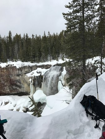 La Pine, OR: Paulina Creek Falls ( frozen)