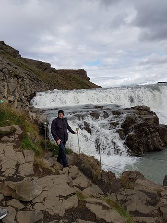 Iceland Horizon: Gullfoss Waterfall