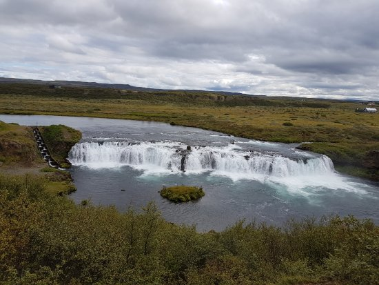 Iceland Horizon: Faxafoss Waterfall