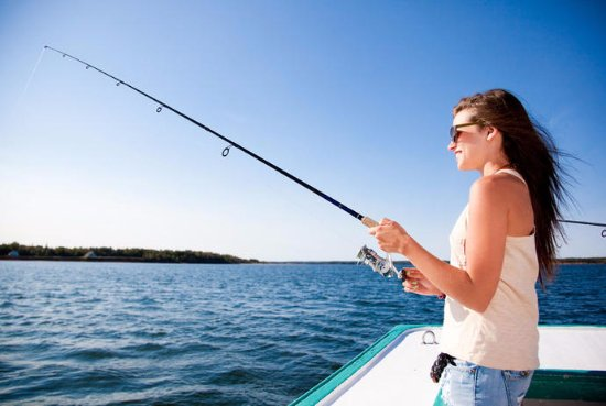 "Stratford, Canada: Our ""Get Hooked"" Deep Sea fishing experience"