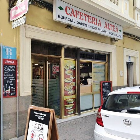Provincia de Córdoba, España: Cafetería Altea