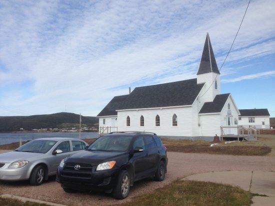 Red Bay, Canadá: La pequeña Iglesia