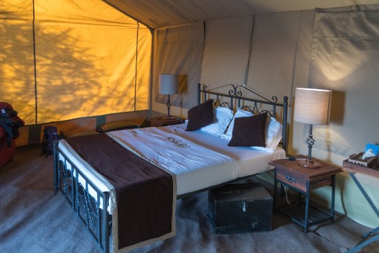 Ndutu Wildlands Camp : Karibu = Bienvenue