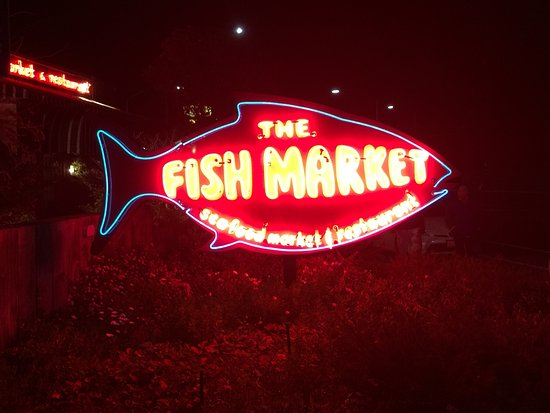 Solana Beach, Kalifornien: The Fish Market