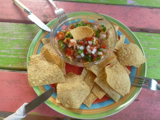 Meldy's: Here is a picture of the shrimp ceviche
