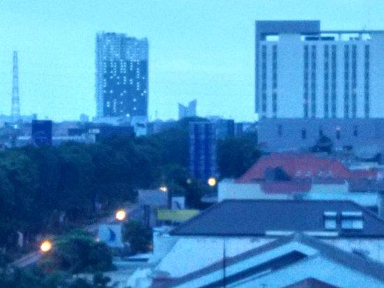 Everbright Hotel: Pemandangan dari balik jendela kamar dilantai 507