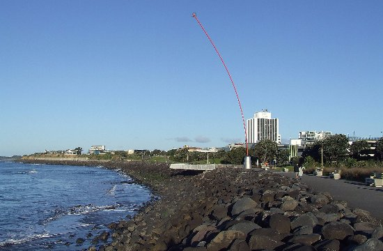 New Plymouth, Nya Zeeland: Len's Wind Wand