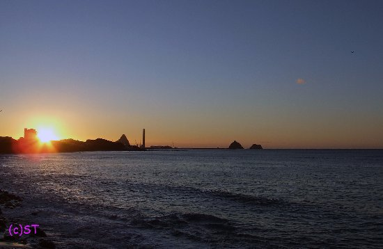 New Plymouth, Nova Zelândia: the Sunset