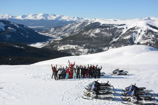 Leadville, CO: The very best snowmobile riding in the world.