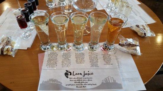 Spring Valley, MN: Loon Juice Tasting