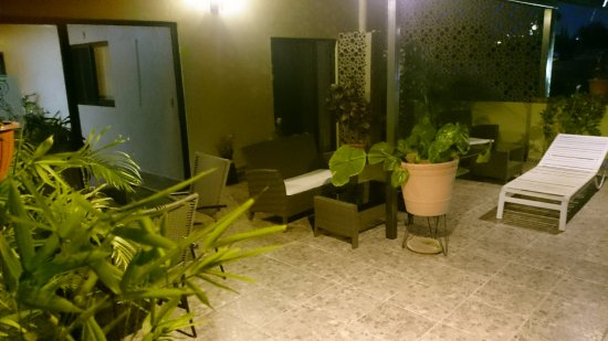 Casa Amable: Terraza