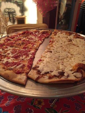 Blackwood, NJ: Original and white pie