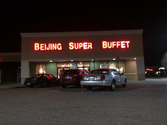 Beijing Super Buffett Front Of Restaurant