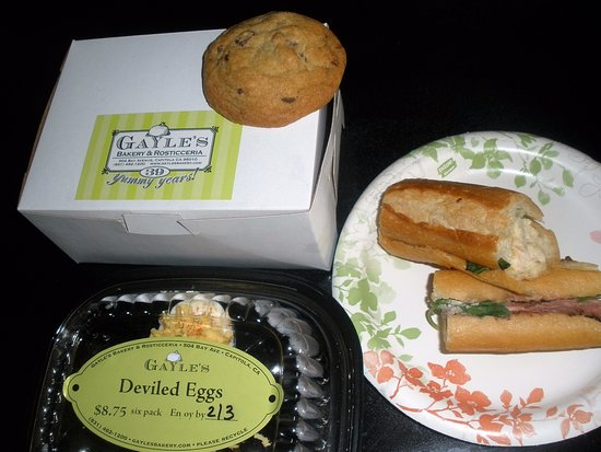 Gayle's Bakery & Rosticceria : Travels well for a picnic.