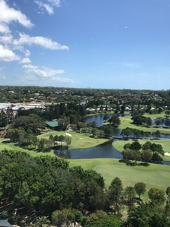 Benowa, Australia: Golf course from the Executive Lounge.