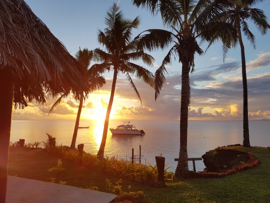 Paradise Taveuni: One of the beautiful sunsets