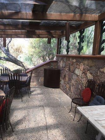 Casa de Aves: Restaurante