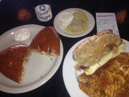 Photo of Ukrainian Restaurant Kramarczuk's Kurbside at 215 1/2 East Hennepin Ave., Minneapolis, MN 55414, United States