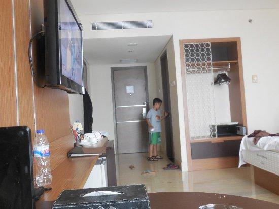 Grand Clarion Hotel & Convention Makassar: Kondisi kamar