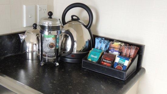 Morrinsville, New Zealand: Tea & Coffee Making Facilities