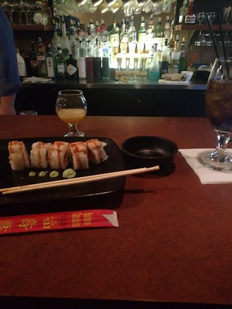 Frankfort, MI: Tiger Maki Roll!