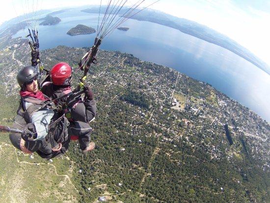 Parapente en Bariloche : que vista!!!!