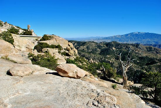 Mount Lemmon, AZ: Views from Windy Point