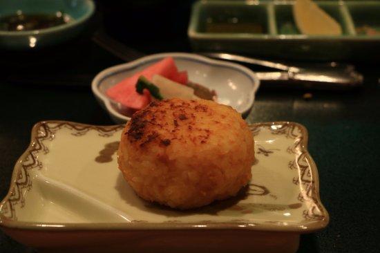 Kuroishi, Japan: 花禪之庄的晚餐~爐端燒料理