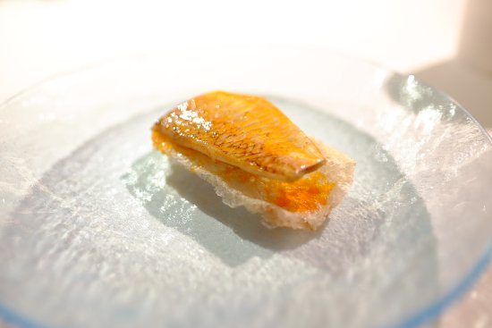 Mugaritz : Red Mullet in Colora