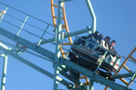 Roller Coaster, Santa Cruz Beach Boardwalk, Santa Cruz, Ca
