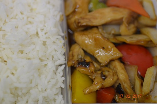 Wellingborough, UK: 60 Chicken with Green Pepper & Black Bean Sauce