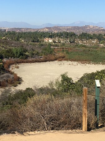 Orange, CA: The dry lake