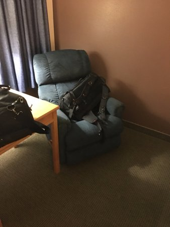 Chamberlain, SD: It looks comfortable but didn't sit in it