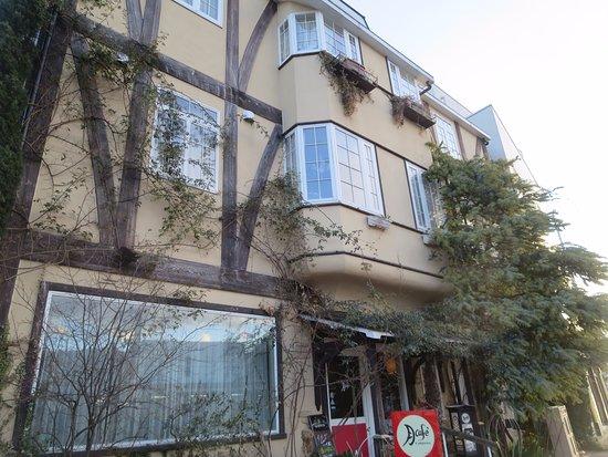 Otsuki, Japon : 一軒家のカフェ