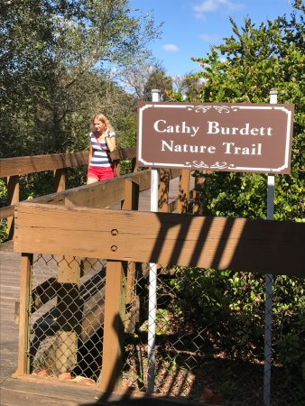 Daggerwing Nature Center: Entrance to walking trial