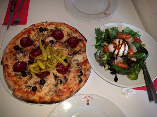 Miss Pizza : wonderful combination