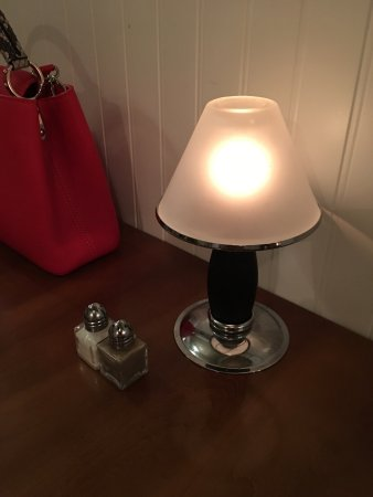 Truffles Bistro: This candle lamp is cute and special. It makes the atmosphere very French romantic