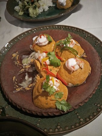 Rama V Fine Thai Cuisine: Seafood Soufflé Otak-Otak