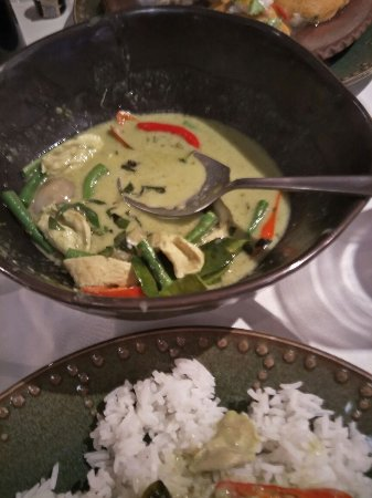 Rama V Fine Thai Cuisine: Green Curry