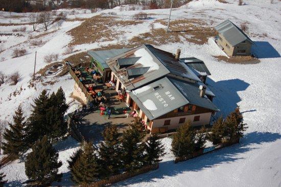 l'Auberge de l'Archaz: vue d'ULM