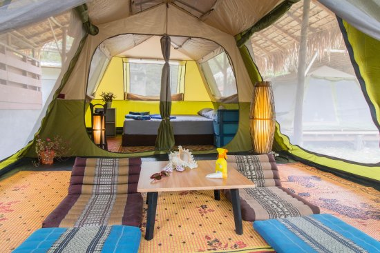 Phayam Friends Tent bungalow with furniture and electricity & Tent bungalow with furniture and electricity - Picture of Phayam ...
