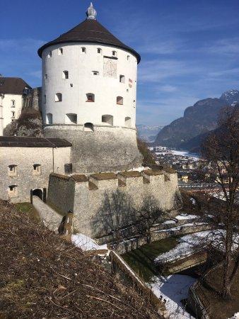Kufstein Fortress : Blick auf den Turm.