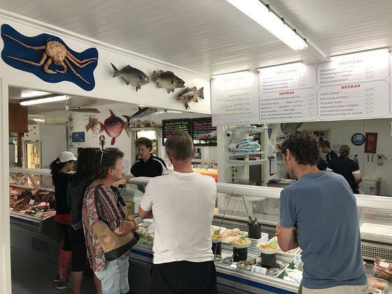Mangonui, Nova Zelândia: Order here & get a Table