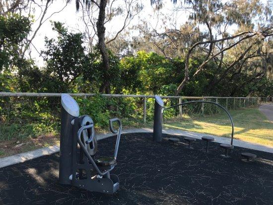 Broadbeach, Australien: Love the fitness equipment